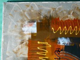 Foto 2 Acryl auf Leinwand Komposition (B042)