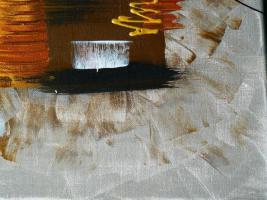 Foto 4 Acryl auf Leinwand Komposition (B042)