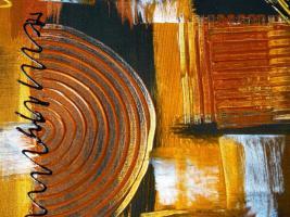 Foto 5 Acryl auf Leinwand Komposition (B042)
