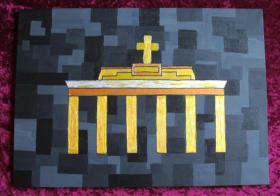 Acrylbild Das Tor