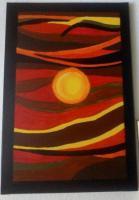 Foto 2 Acrylbild Der helle Punkt