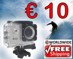 Action Cam A7 HD wasserdicht nur € 10 frei Haus
