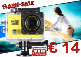 ActionCam FHD WiFi 12MP Zoom nur 14€ frei Haus