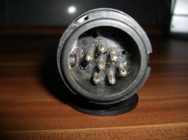Foto 3 Adapter kurz AHK 13/7 für Anhängerkupplung PKW 13 auf 7 Pol
