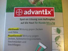 Foto 2 Advantix Zeckenschutz Zeckenmittel