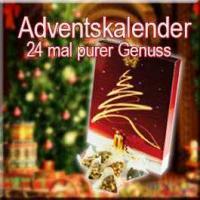 Adventskalender - 24 mal purer Genuss