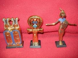 Foto 8 Ägyptische Figurensammlung aus dem Haus Franklin Mint