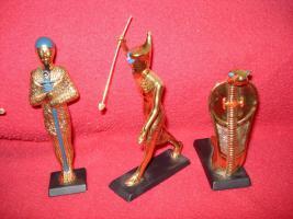 Foto 9 Ägyptische Figurensammlung aus dem Haus Franklin Mint