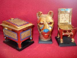 Foto 11 Ägyptische Figurensammlung aus dem Haus Franklin Mint