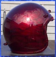 Foto 3 Airbrush Helm! Ghost Airbrush mit dem Design Flames!