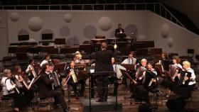Orchesterleitung. Dresdner Akkordeon Orchester