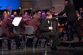 Solo mit dem Orchester der Staatsoperette Dresden