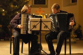 Duo Akkordeon Virtuosi. Kirchenkonzert