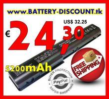 Akku HP Pavilion DV7 5200mAh nur € 24,30 - versandkostenfrei