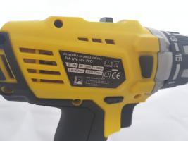 Foto 4 Akku-Schlagschraubendreher POWERMAT PM-WA-18V-PRO 2 Akkus LI-ION 15 Stufen LED Lampe