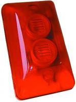Alarmsirene ''HC-102'' mit Blitzer, 270° sichtbar