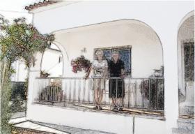 Foto 11 Algarve, Ferienwohnung Privat Preiswert, Sonnenterrasse
