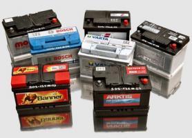 Alte Autobatterien