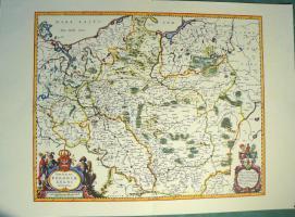 Alte Karte von Polen 1640 (B040)