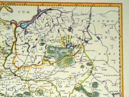 Foto 3 Alte Karte von Polen 1640 (B040)