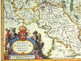 Foto 4 Alte Karte von Polen 1640 (B040)