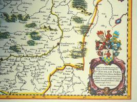 Foto 5 Alte Karte von Polen 1640 (B040)