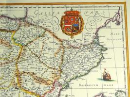 Foto 3 Alte Karte von Spanien 1634 (B039)