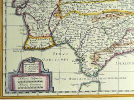 Foto 4 Alte Karte von Spanien 1634 (B039)
