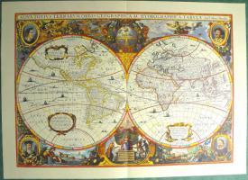 Alte Weltkarte Die Welt 1641 (B038)