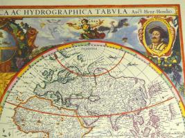 Foto 3 Alte Weltkarte Die Welt 1641 (B038)