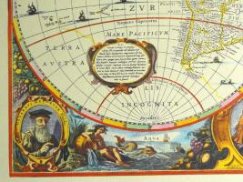 Foto 4 Alte Weltkarte Die Welt 1641 (B038)