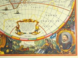 Foto 5 Alte Weltkarte Die Welt 1641 (B038)