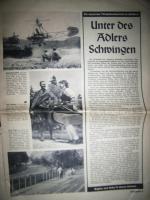 Foto 2 Alte original Münchner Illustrierte von 1953