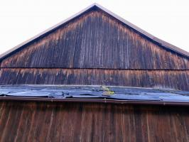Alten Holzstadel