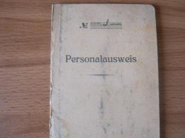 Alter Personalaus von 1930