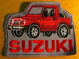 Alter, unbenutzter, Suzuki 4x4, SJ 410 Aufnäher, Patch