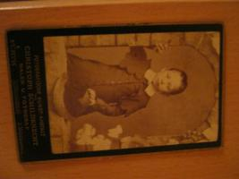 Altes Foto  ''Kind'' um 1900