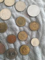 Foto 3 Altes Geld Mark Italien Belgien Österreich usw