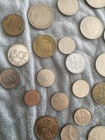 Foto 4 Altes Geld Mark Italien Belgien Österreich usw