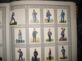 Foto 2 Altes Uniformen Alben der alten Armee . Rarität .