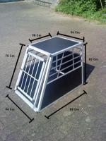 Alu Transportbox Hund