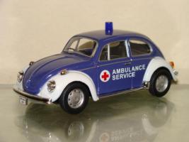 Ambulance Service Cararama VW Beetle