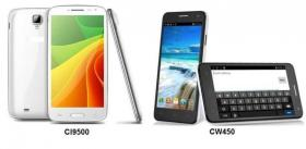 Foto 3 Android Smartphones 5'' Handy 1,3 GHZ Quadcore S4 HD Air Gesture