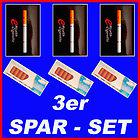 Angebot 3 mal 1er starterset +50 depots e-cigarette OHNE NIKOTIN