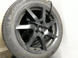"""Foto 5 Angeboten zum Verkauf  werden 4x  Michelin Sommer - Reifen 205/55 R17 95V + Felgen/ Black Glossy  sehen super aus"""""""