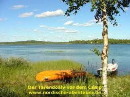 Foto 5 Angel-Camp Drei Flüsse in der Wildnis Schwedisch-Lapplands