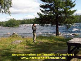 Foto 9 Angel-Camp Drei Flüsse in der Wildnis Schwedisch-Lapplands
