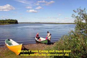Foto 6 Angel-Camp Drei Flüsse in der Wildnis Schwedisch-Lapplands