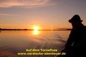Foto 10 Angel-Camp Drei Flüsse in der Wildnis Schwedisch-Lapplands