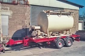 Foto 5 Anhänger Siloanhänger 6 m3 für Mehl, Kraftfutter, Pellets o. ä.